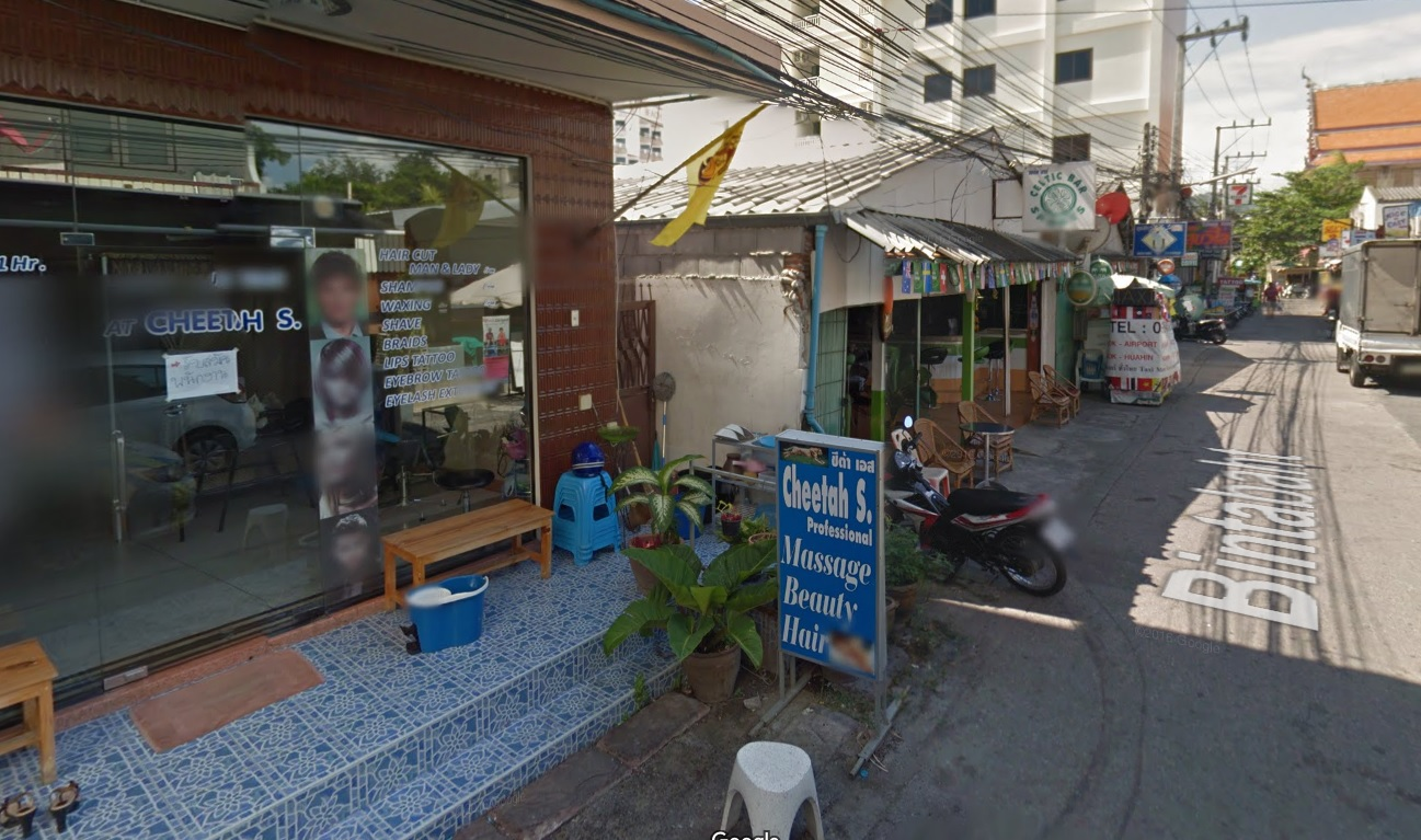 Soi Binabaht during the day, Google Street View