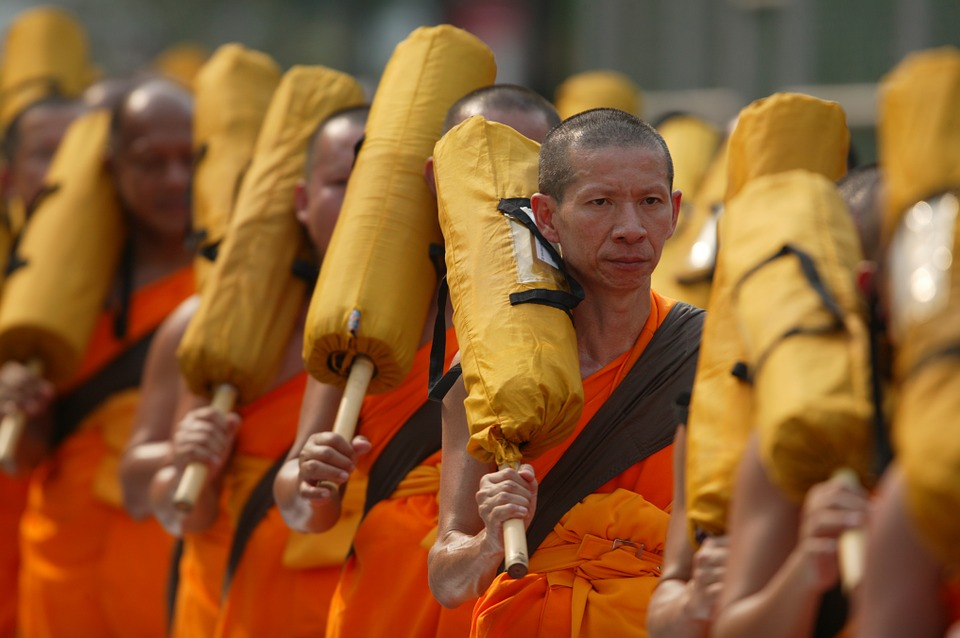 Buddhist monks, file picture/suc
