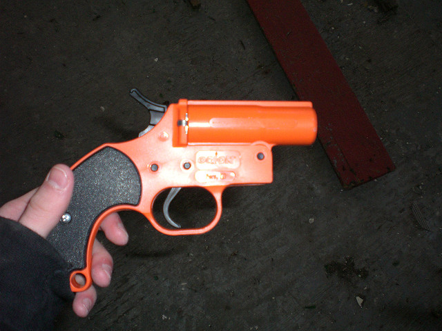 Flare Gun, filepicture, Justin Gurbisz