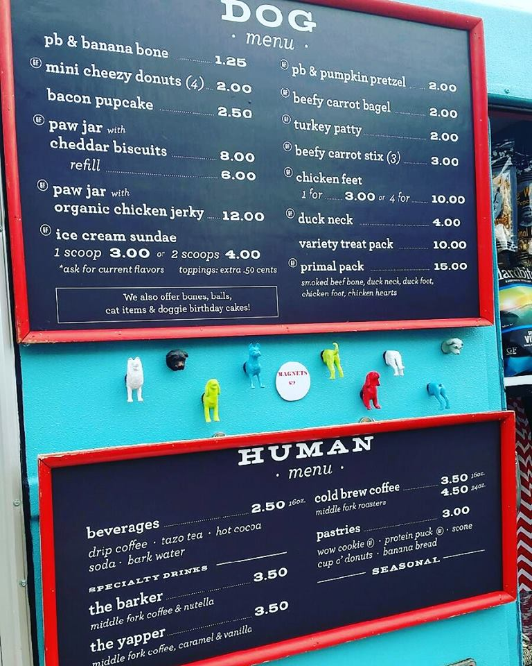 The Extensive Menu, The Seatle Barkery/Facebook