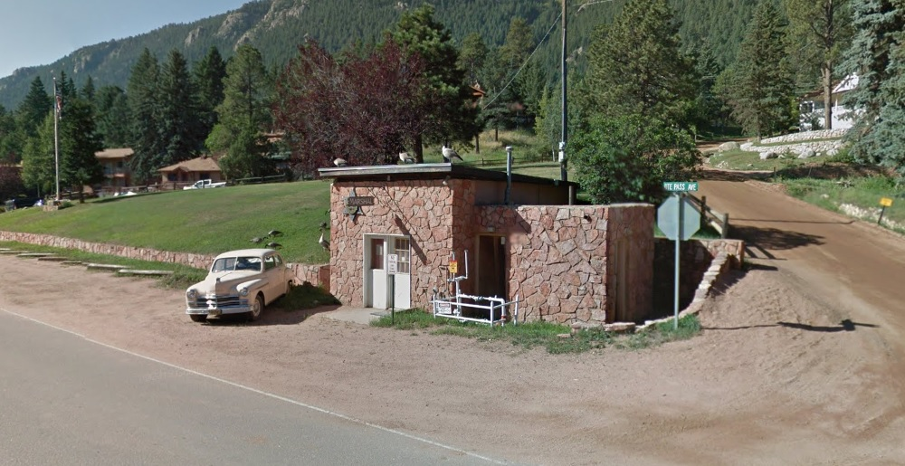 Green Mountain Fall's Marshall's Office, Google Street View