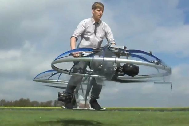 Homemade Hoverbike, colinfurze/Youtube
