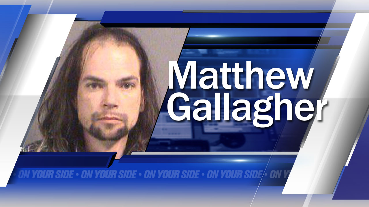 Matthew Gallagher suspected child abuser, Wichita Police