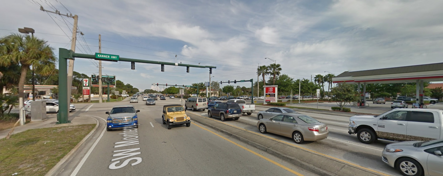 Intersection of SE Monterey rd and S Kanner Highway, Google Streetview