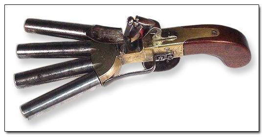 Duck's Foot Pistol, Dave Cushman