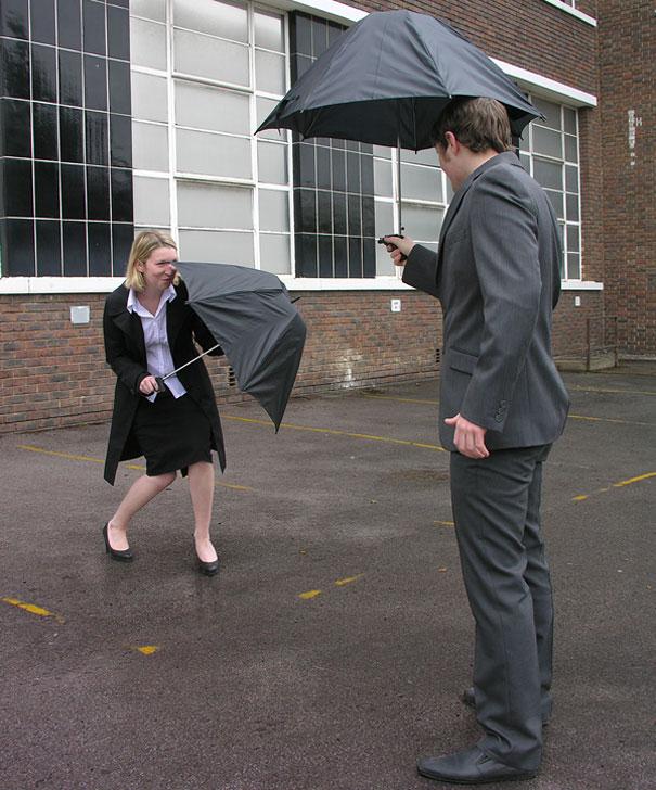 Water Gun Umbrella, Alex Woolley