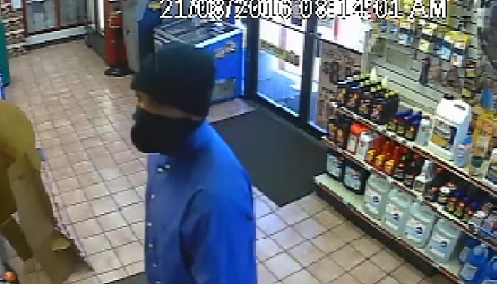 Armed Bucks Polite Robber