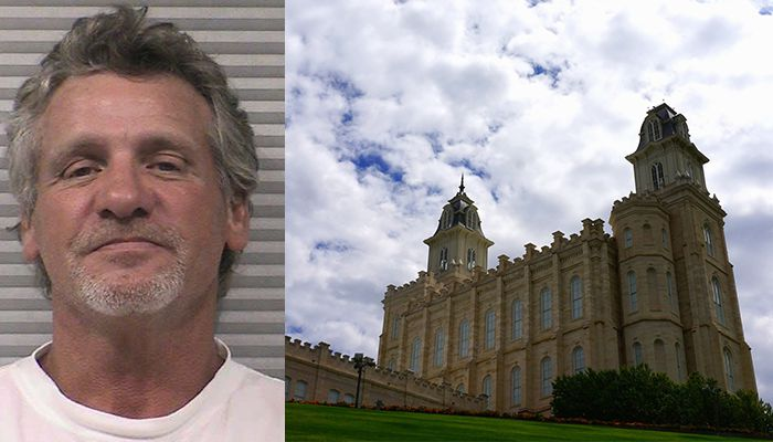 Naked man says he was looking for a wife at Mormon temple