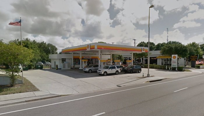 Shell Gas Station in Sarasota