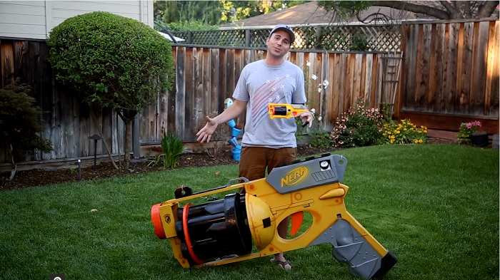 Mark Rober and his Huge Nerf Gun, Mark Rober/Youtube