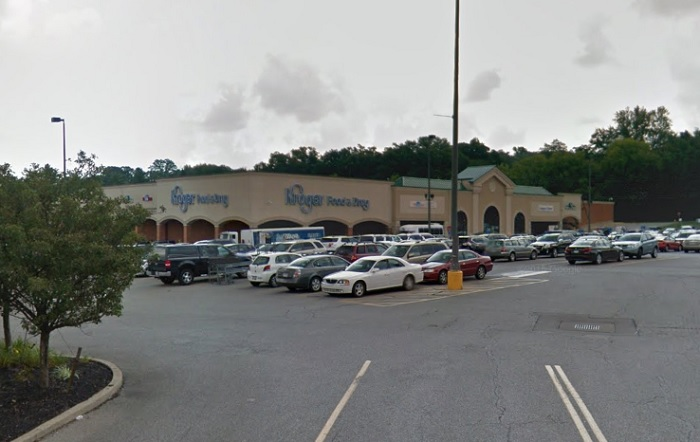The scene of the crime: Kroger Market, Google Street View