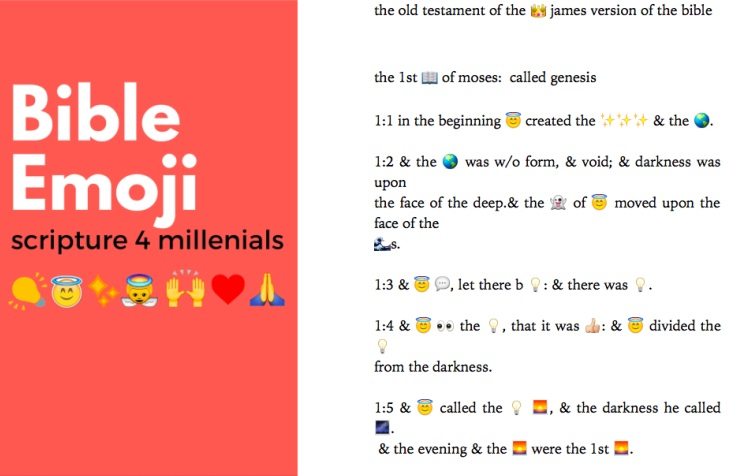 The Emoji Bible