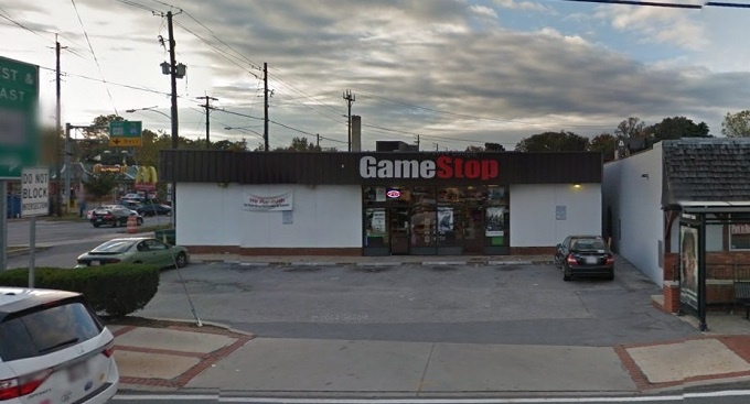 The GameStop in Silver Spring,  Google Street View