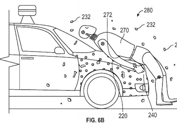 Google's sticky layer, United States Patent and Trademark Office
