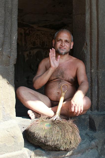 Digambar Jain guru