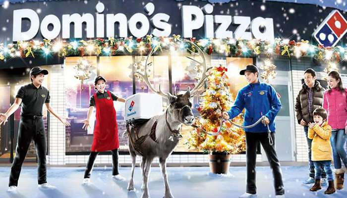 Reindeer Delivery for Domino's