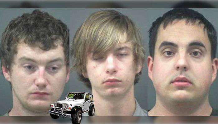 Stealing back Jeep Cherokee