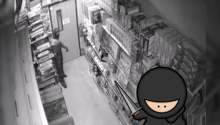 ninja robbery