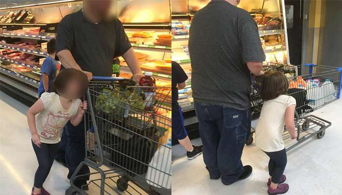daughter tied to trolley