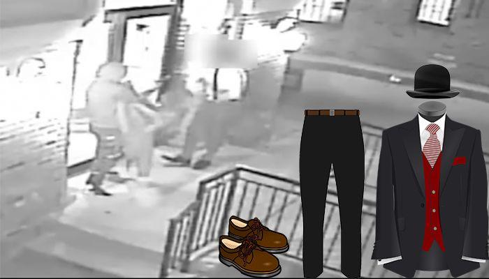 Jewish clothing robbery