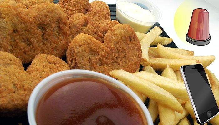Police called after chicken nuggets not cooked fast enough
