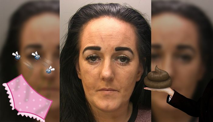 Burglar Rubs Faeces In Homeowners Face