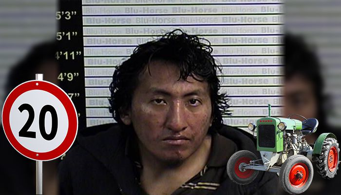 Alex Garcia stolen tractor